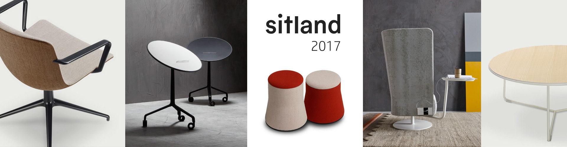 Nové židle Sitland 2017 - slide