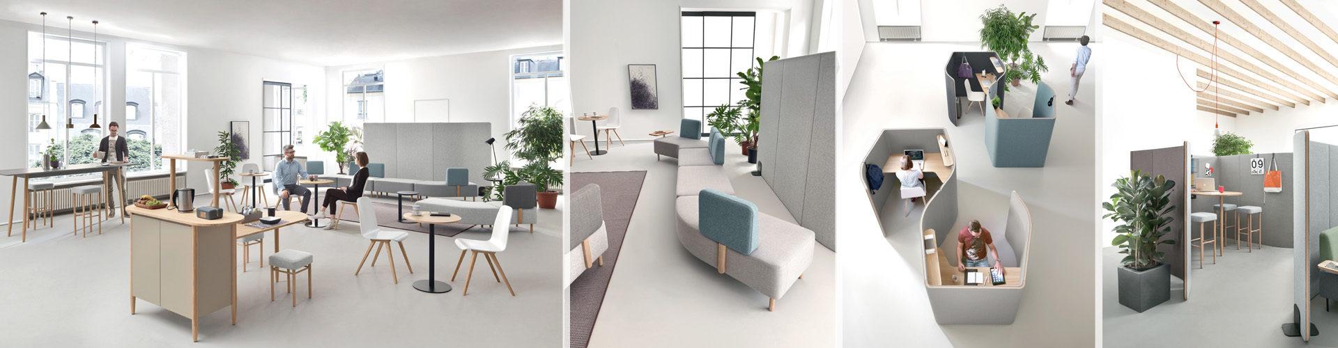 Moderní kancelářský nábytek Nucleo